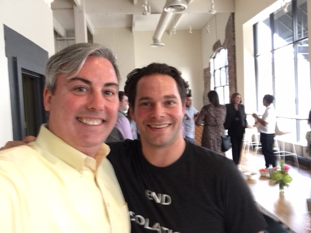 Brian Zuercher, Hopewell Partner and I at last night's event.