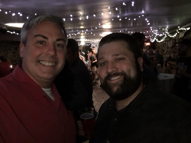 Mike Liddy and I at the Drink Up Columbus event last night.