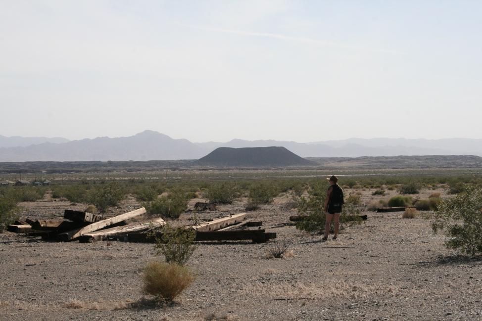 The Mojave Desert, Amboy, California