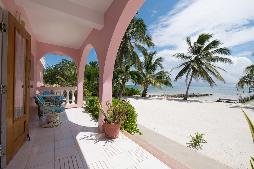 Sample of Beachfront in Ambergris Caye Belize