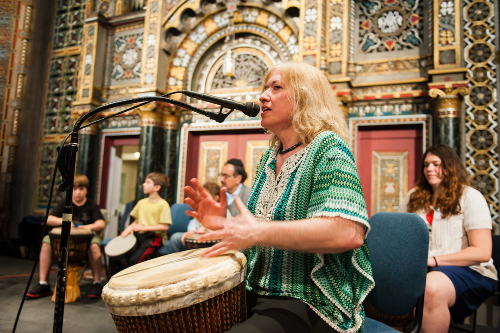 Shoshana Drumming BJ Stage.jpg
