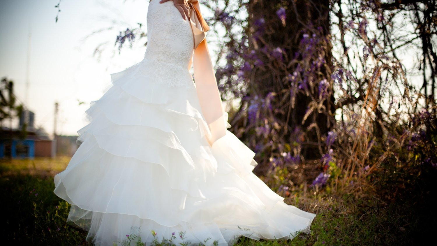 Wedding Dress Cleaning — BLUE MOON Dry Cleaners