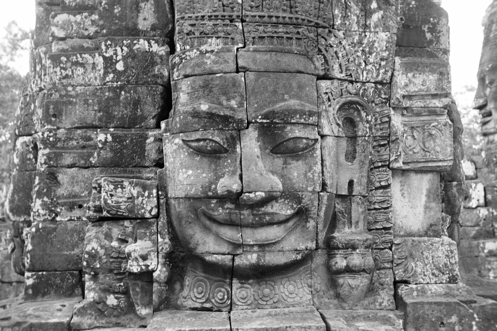 The Bayon, within the Angkor Wat. Courtesy of SKY, 2001