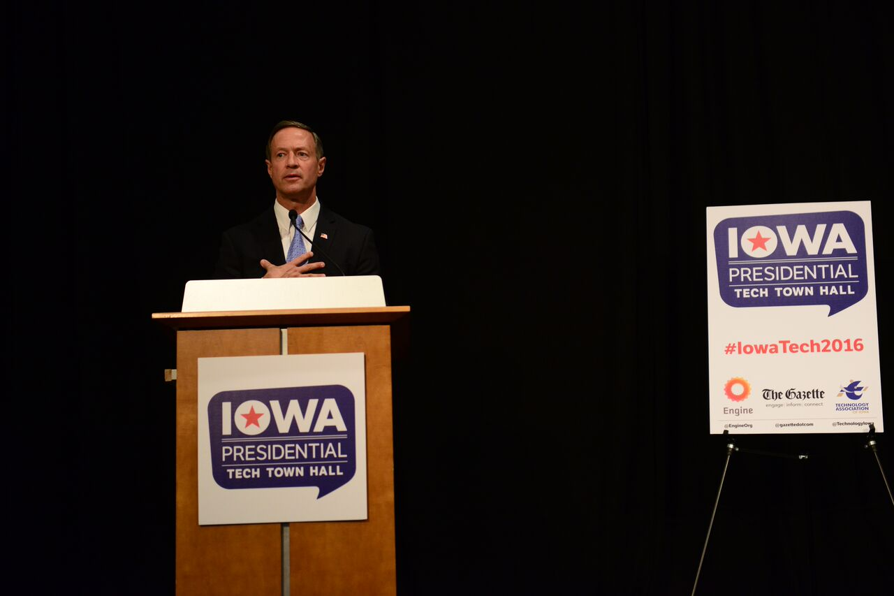 OMalley in Iowa