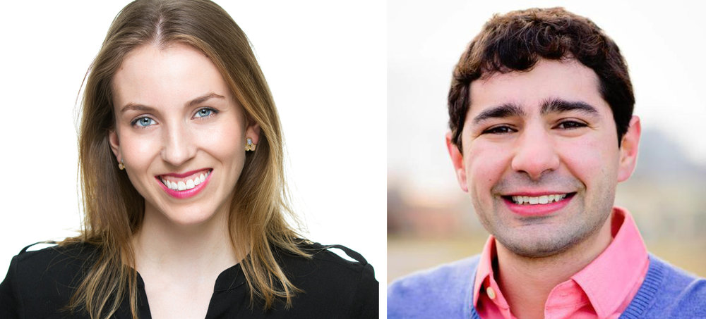Sara Woldt (L) is the Director of Business Development at gener8tor and the co-founder of the OnRamp Conference Series. Scott Resnick (R) is the Resident-in-Entrepreneur for StartingBlock and the co-founder of the startup Hardin Design & Development.