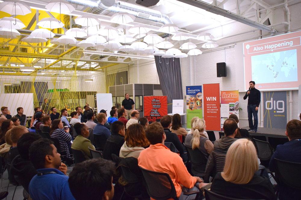 Startup Weekend Buffalo - Dig Buffalo.JPG