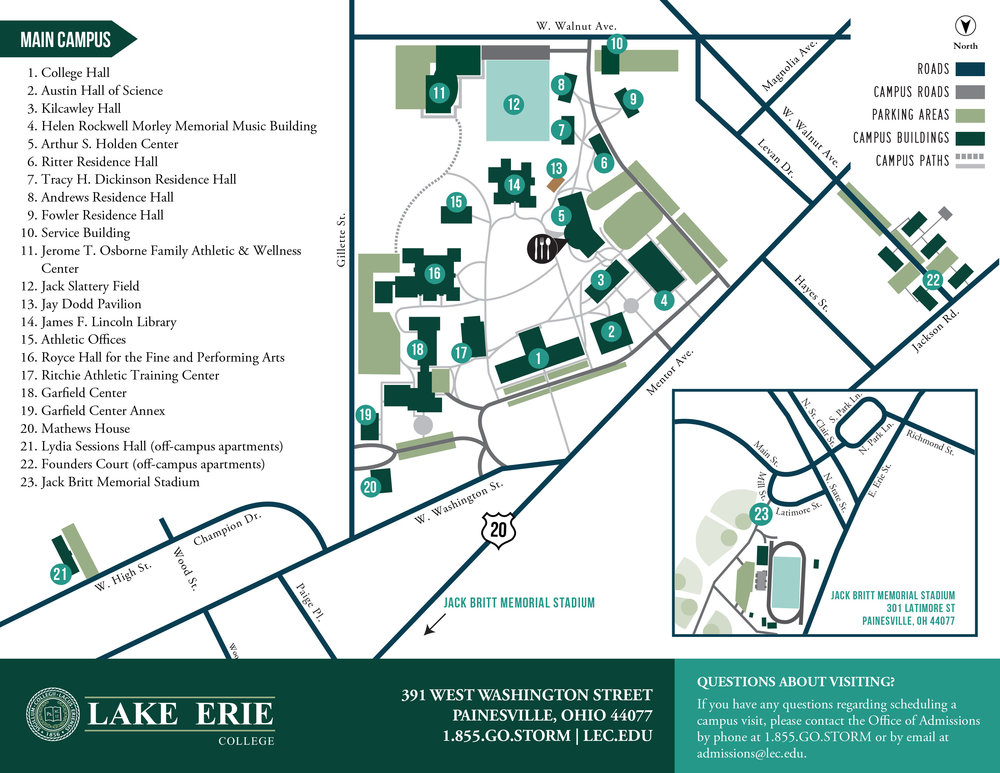 Lake Erie College Campus Map.Reiki Clinic At Lake Erie College Reiki To U