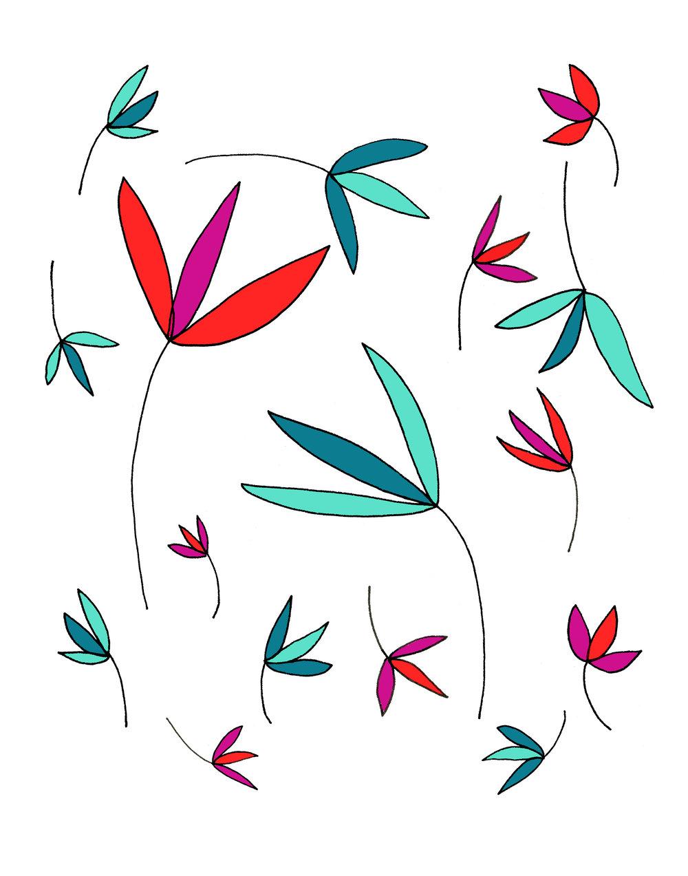 Plant Illustration by Emma Freeman Designs
