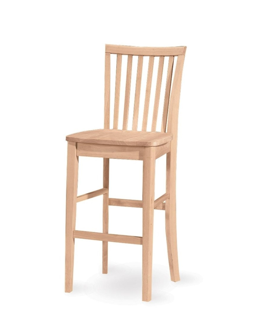 Classic Mission Bar Stool  sc 1 st  American Rustic Design & Chairs/Bar Stools u2014 American Rustic Design islam-shia.org