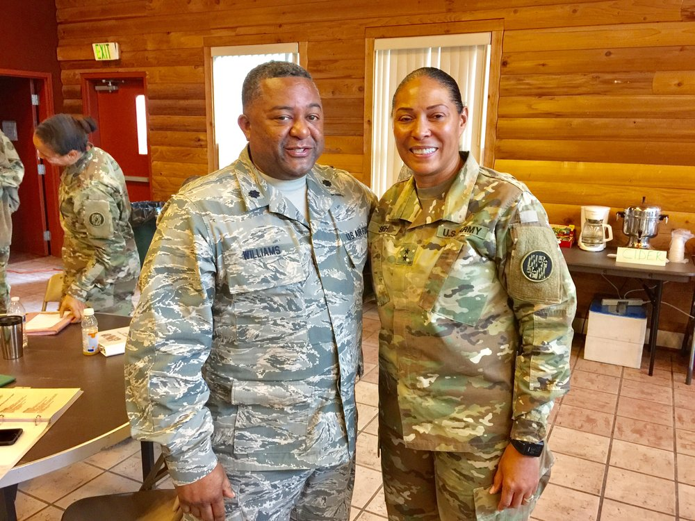Air National Guard Ministry with Major General Linda Singh - a graduate of Washington Adventist University
