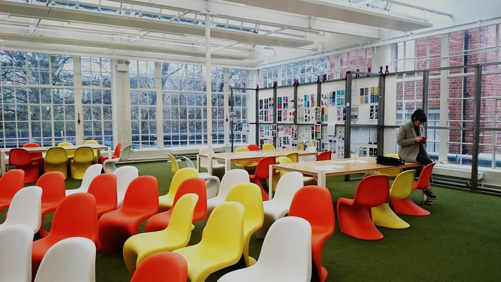 My amazingly beautiful classroom at Leeds University.