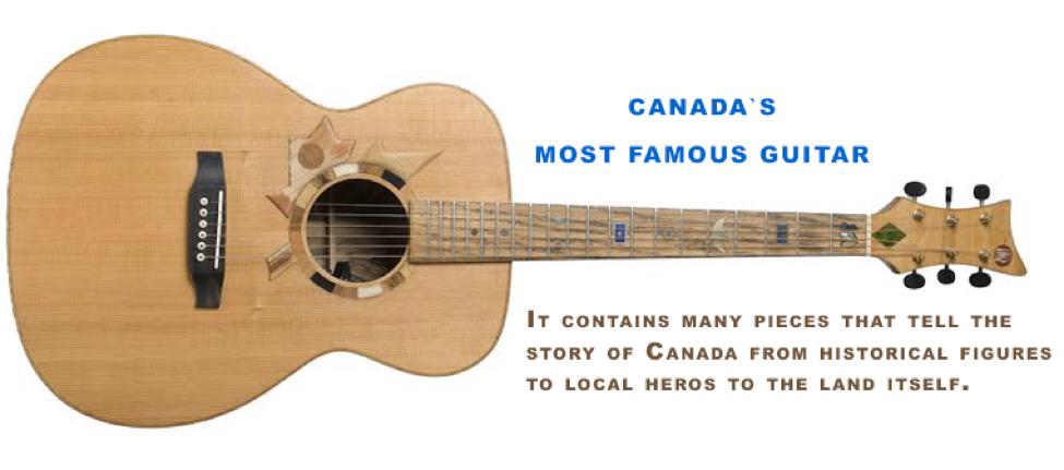 Figure       SEQ Figure \* ARABIC     5      : The Six String Nation guitar.