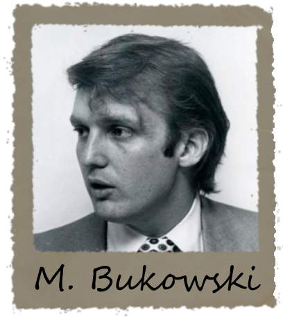Michael Bukowski - Specialisation: Symbology & SemiologyDésavantages:- Veut toujours sauver le veuve et l´orphelin- Noctambule- Pense qu´il peut parler aux animaux- Trop sûre de lui- Maladroit