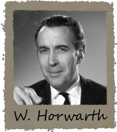William Horwarth - Specialisation: Bones & Antropology