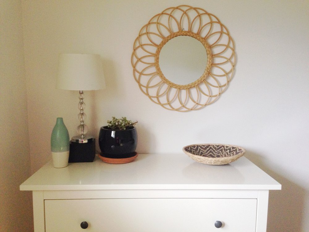 Guest room styling