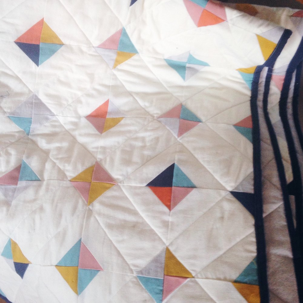 My second quilt for baby