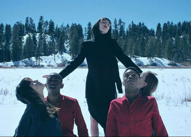 Video for CRY is out on @flauntmagazine ! Share, watch, repeat #lenafayrecry