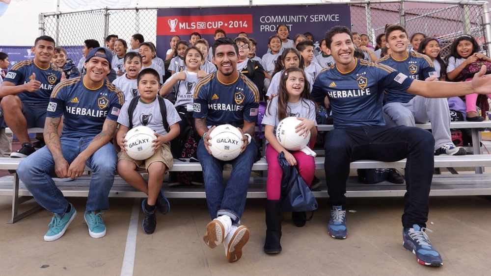Soccer Kick with LA Galaxy Foundation