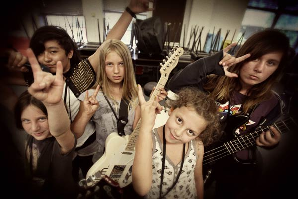 Rock n' Roll Camp For Girls Los Angeles