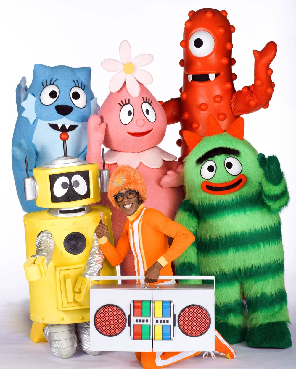 Yo Gabba Gabba! and DJ Lance Rock