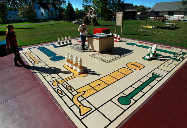 Happy Trails for Kids presents Life Size Board Games