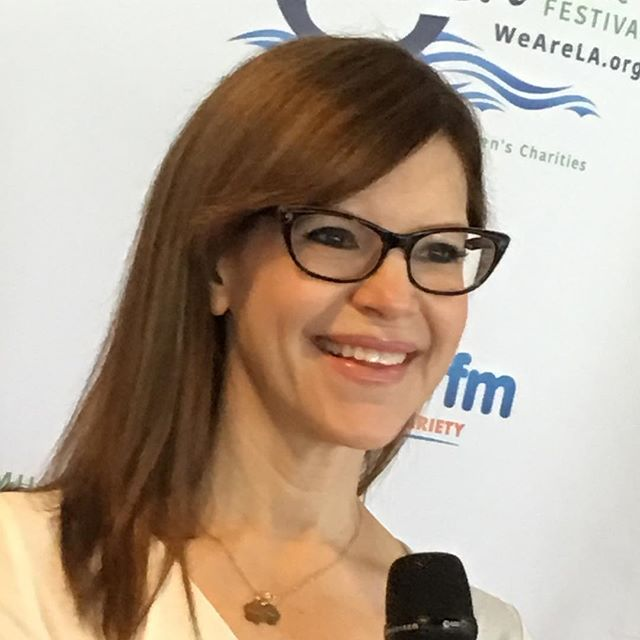 .@LisaLoeb on the #redcarpet at #WeAreLAFest. She'll be on stage shortly #StayIMissYou #FeelWhatUFeel