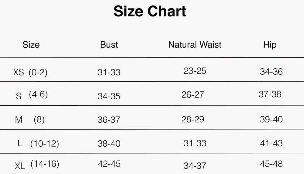 *All sizing is US based unless otherwise stated*