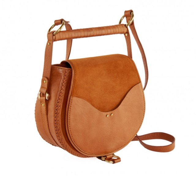 Cross-body bags are a must for trotting around the desert. This cute bag keeps all your belongings secure all while adding the perfect complimentary hue to your outfit. Sancia Babylon Suede Bar Bag $398