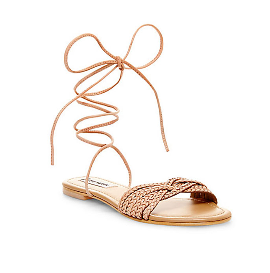 Dance the days away all while packing in comfort and cuteness in these strappy stunners. Steve Madden Charmee $60