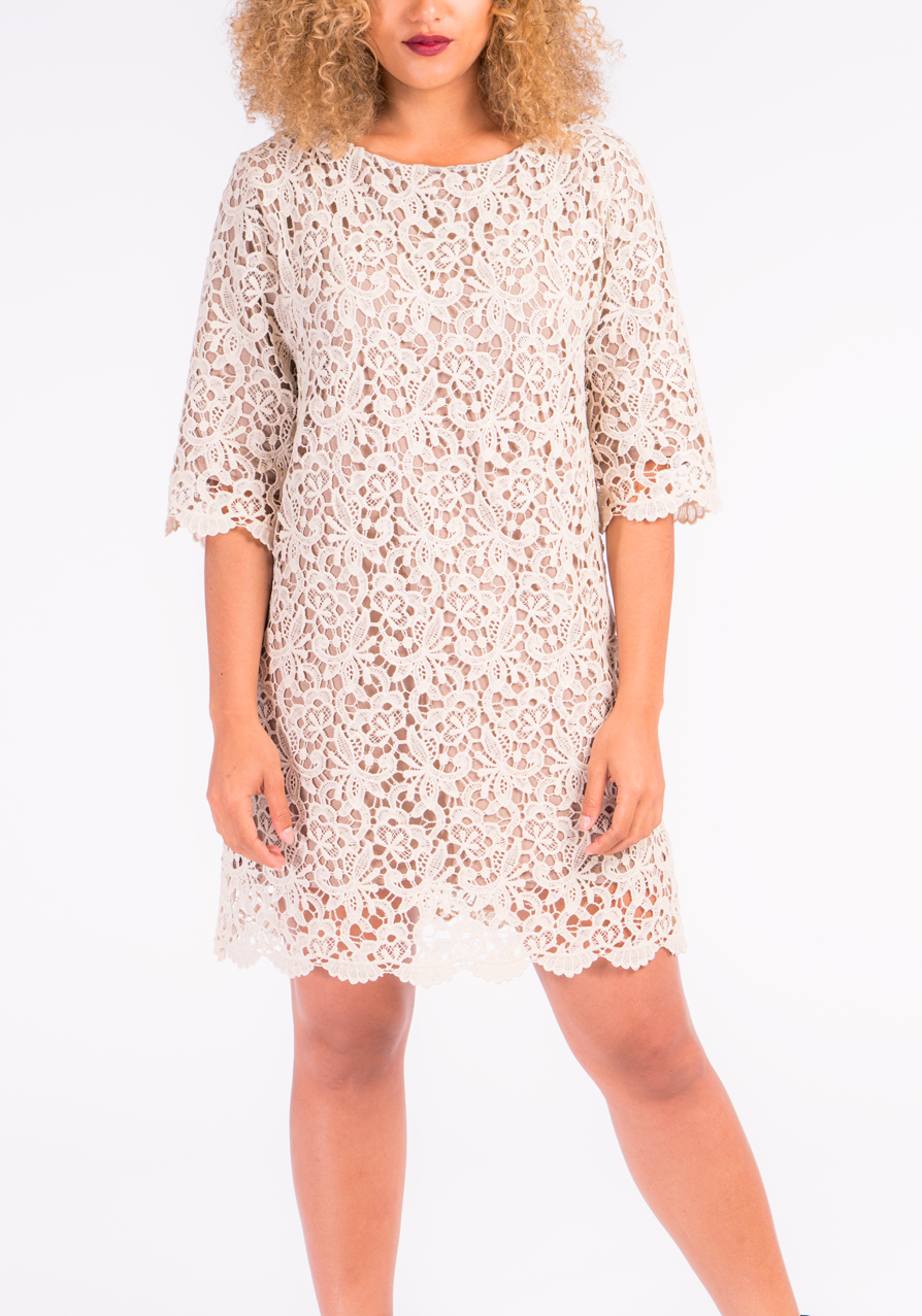 Crochet for festivals? Groundbreaking. Something never go out of style for a reason! Stormie Dreams Iggy Crochet Dress $228