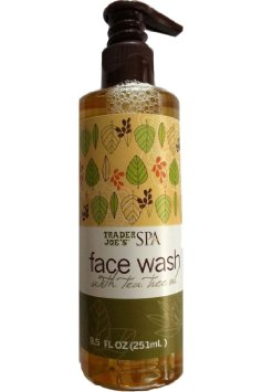 Trader Joes Spa Face Wash,$5-6