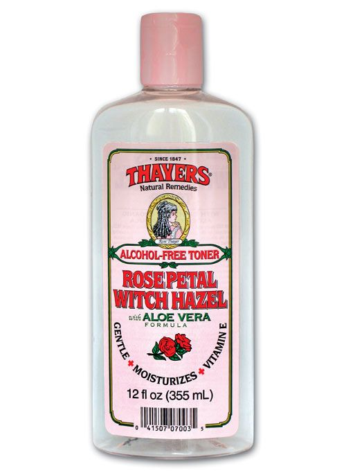 Thayers Rose Petal Witch Hazel, $10