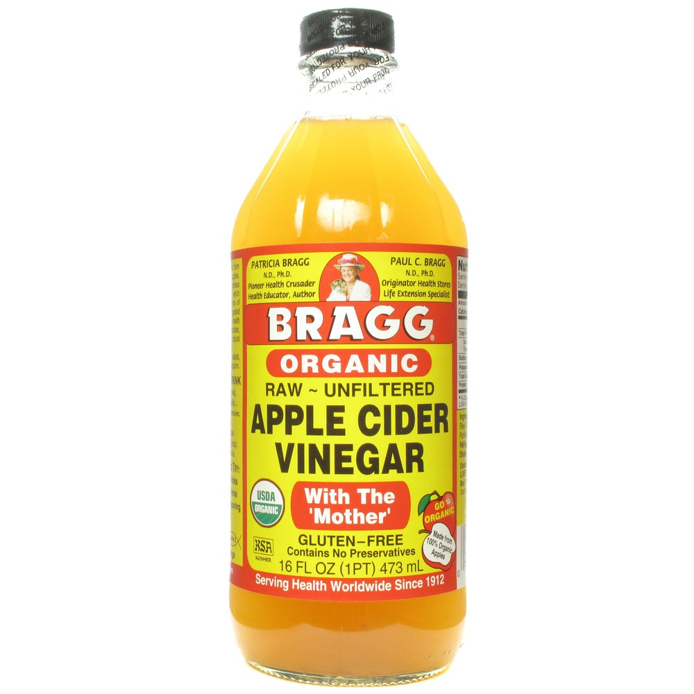 Bragg's Raw Apple Cider Vinegar, $5
