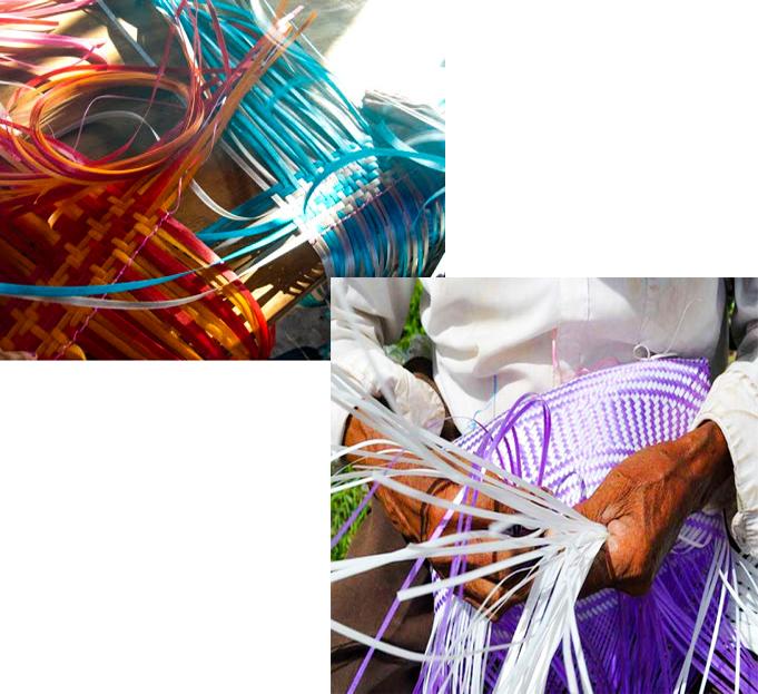 100% handmade artisanal bags.