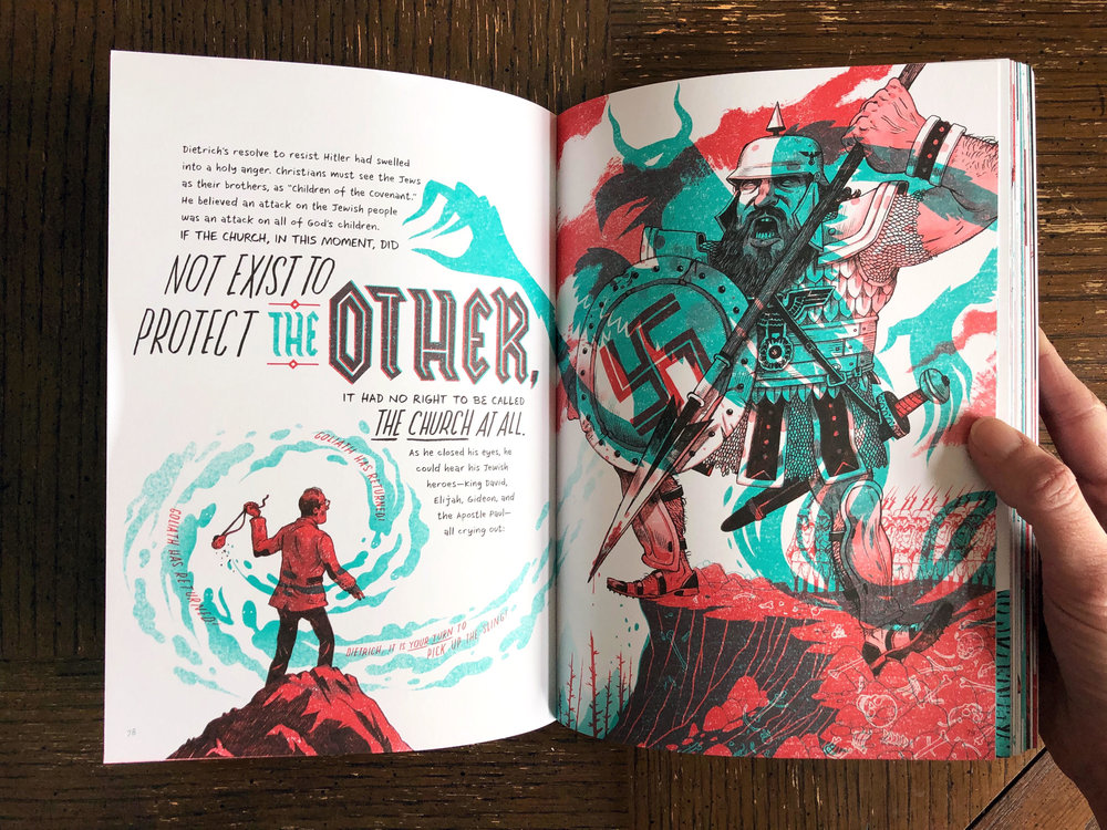 Really, you shouldn't need anything beyond this stunning spread to convince you to pick up this book. This blog post should've just been this picture. It speaks for itself.