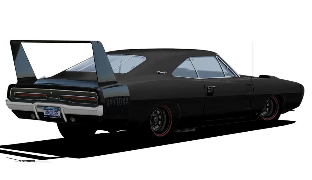 1969 Dodge Daytona Rear