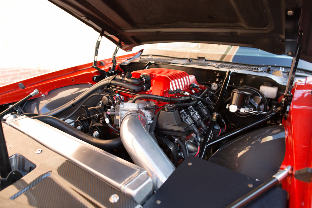 1970 Chevrolet Camaro Inferno Hood