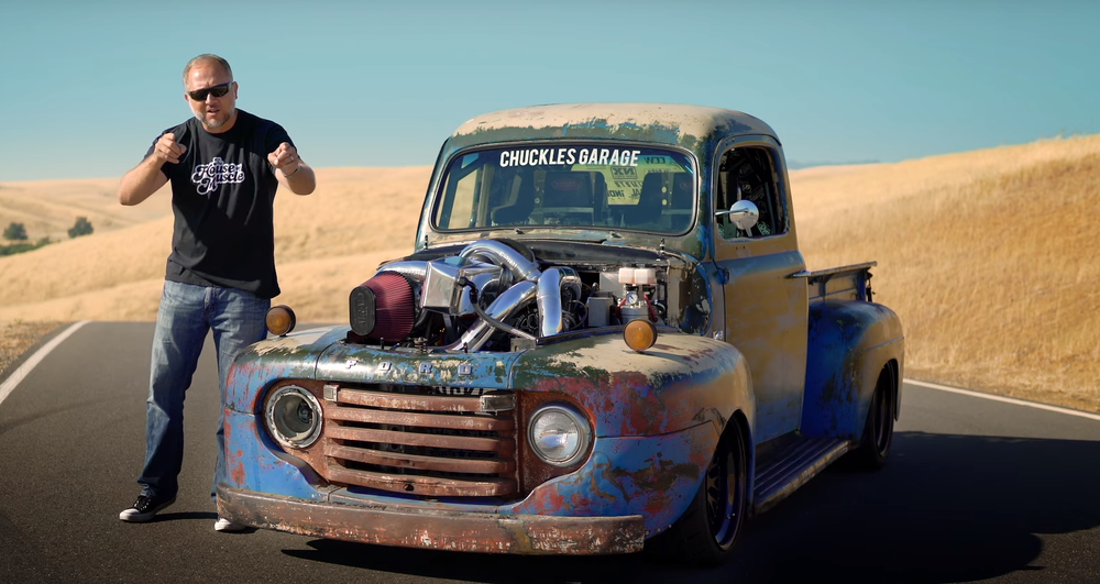 Chuckles Garage - Ep. 10 - Old Smokey, the 1949 Ford F1 pickup, was conceived and built by Scott Birdsall, the owner of Chuckles Garage in Santa Rosa, California.