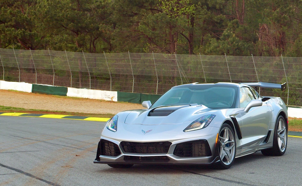 2019 Corvette ZR1 Review - Ep. 3 - This is it. The last and arguably the best C7 Corvette ever made. With the mid-engine C8 looming on the horizon the wizards over at Chevrolet decided to throw everything at the existing C7 platform they could think of. That meant a 755-hp supercharged 6.2L LT5 V8, an aero package fit for a spaceship and of course a 7-speed manual gearbox that helps the ZR1 reach a top speed of 212-mph.