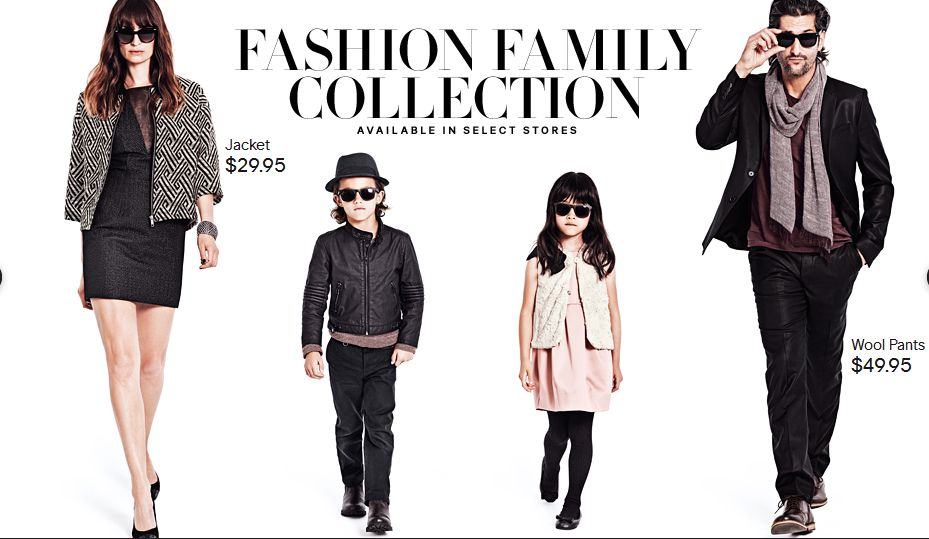 H M S Fashion Family Campaign Mama In Style