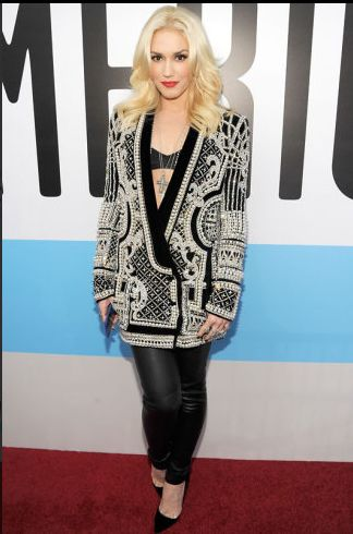 Gwen Stefani on the AMA Red Carpet
