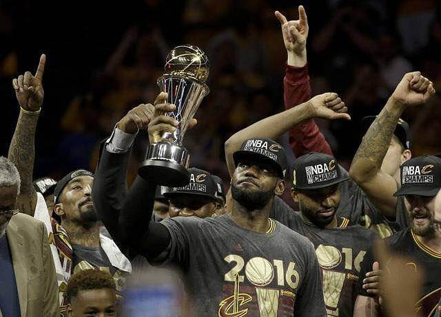 Congrats to Lebron and the Cavs! Thrilled for all our friends in Cleveland...