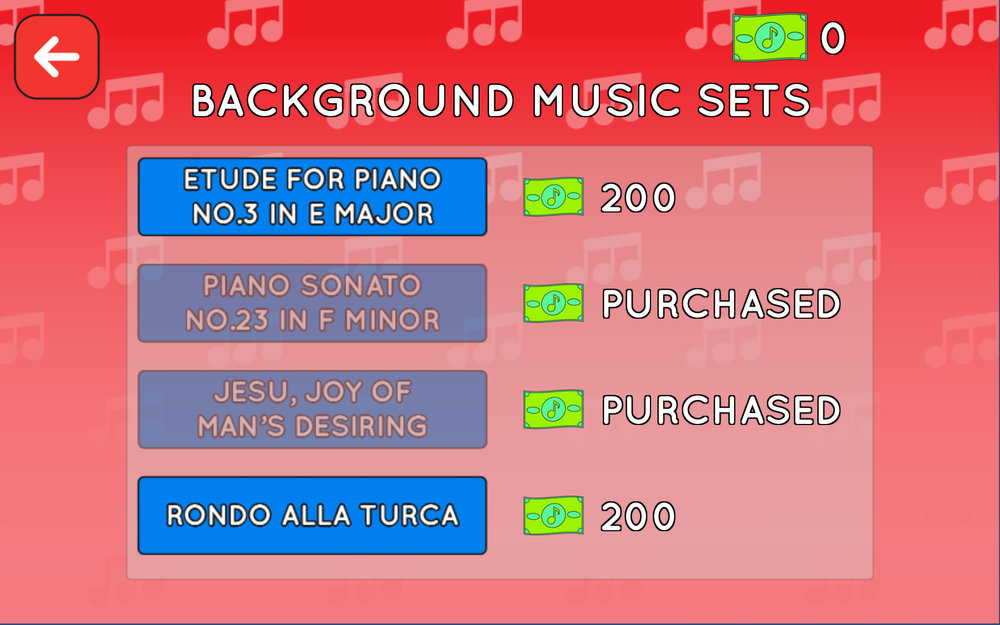 Marketplace — Background Music Sets