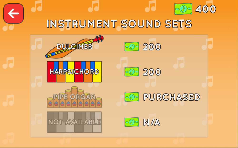 Marketplace — Instrument Sound Sets