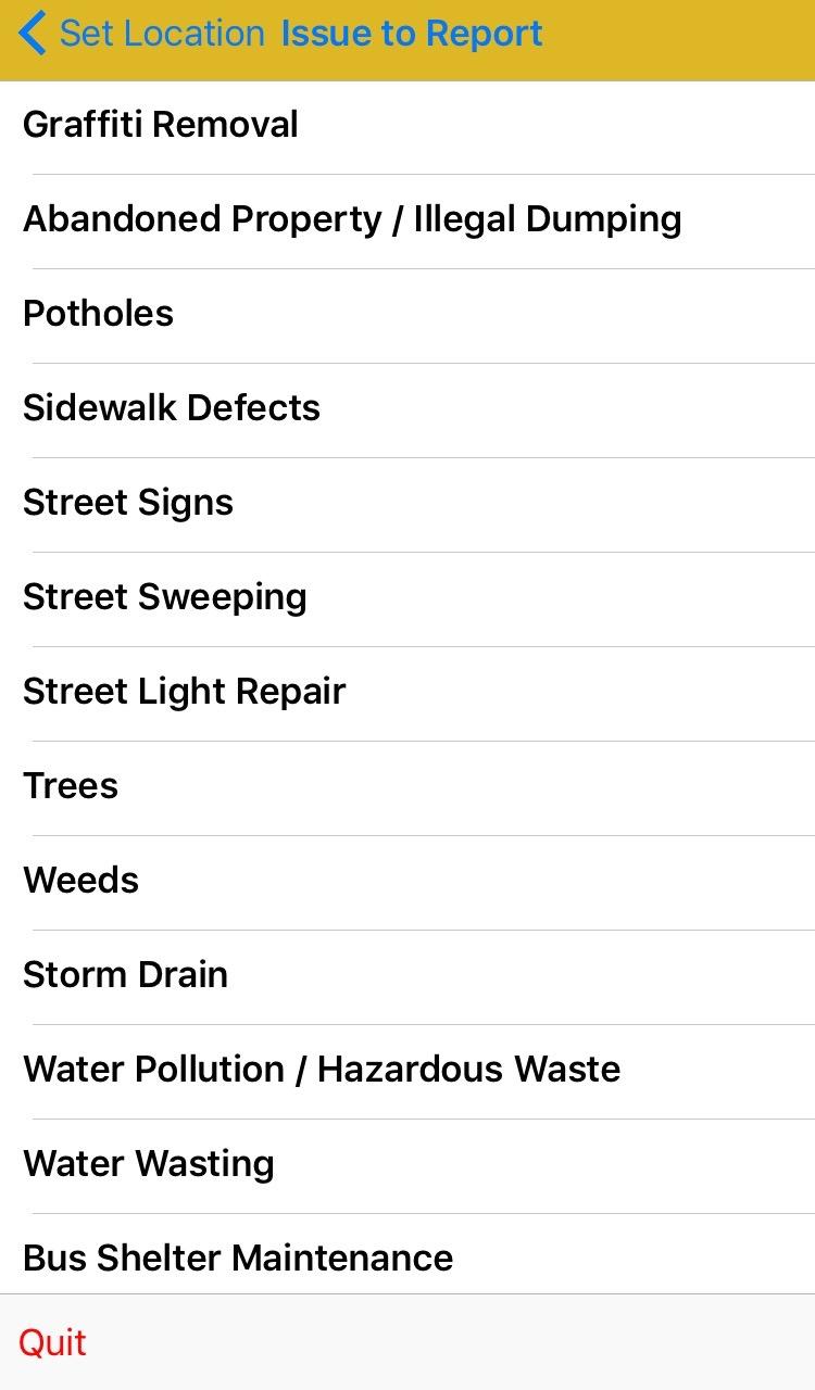 Santa Ana Graffiti Removal App