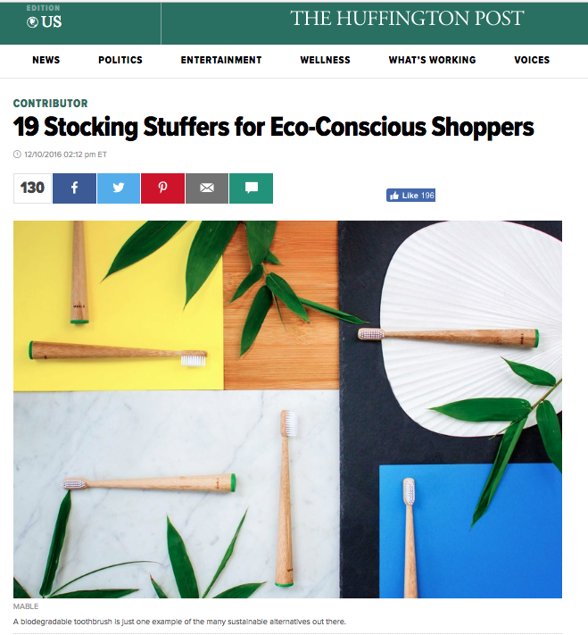 Osom Brand featured in The Huffington Post