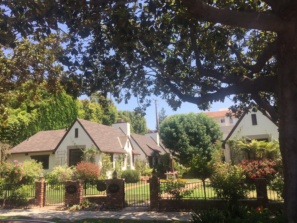 Tudor Revival bungalow court (c. 1921)