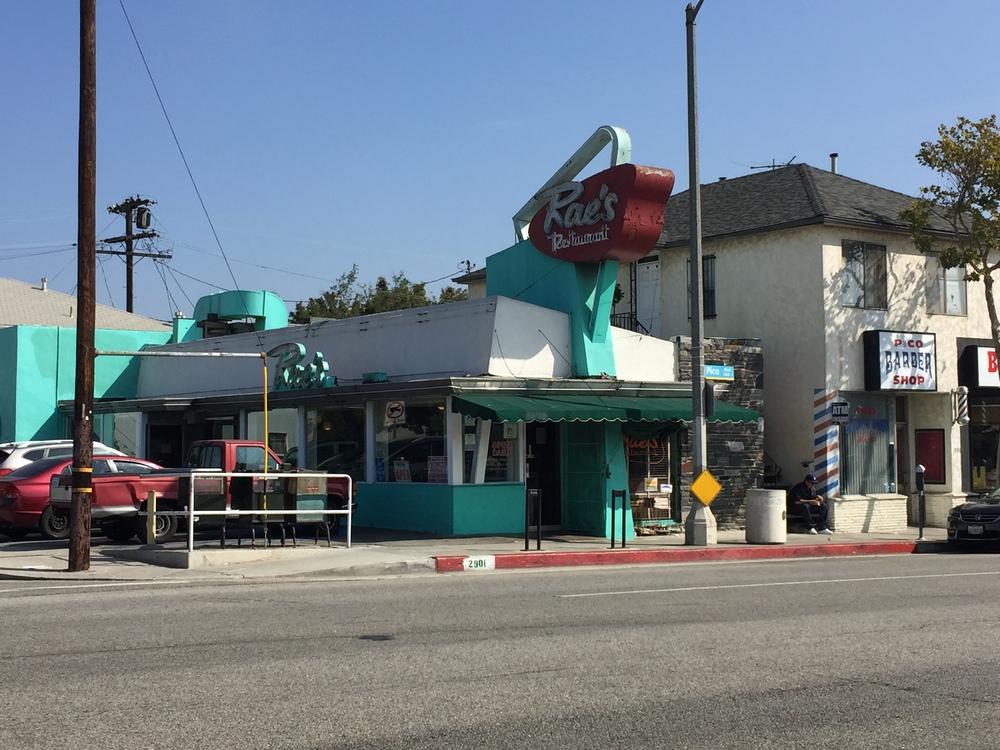 Rae's Restaurant (1952, A.L. Collins)