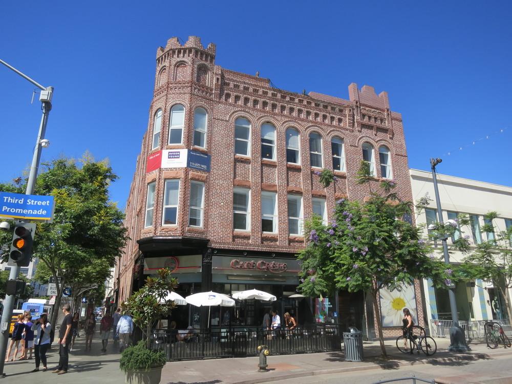 Keller Block (1892, Carroll H. Brown; Landmark #87), downtown