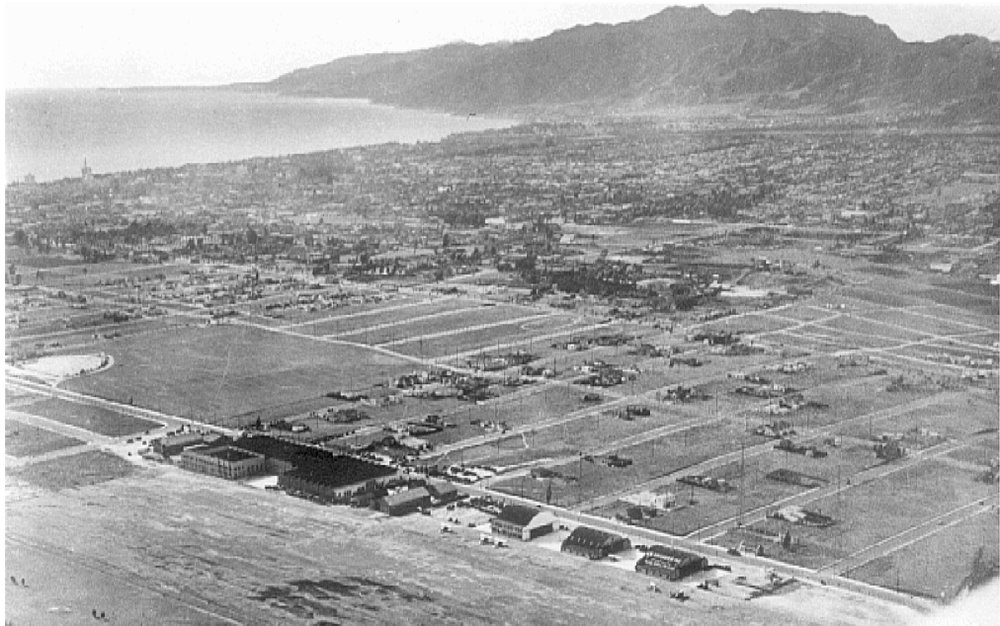 Aerial view of Sunset Park, c. 1930. Source: Granger Aerial Surveys